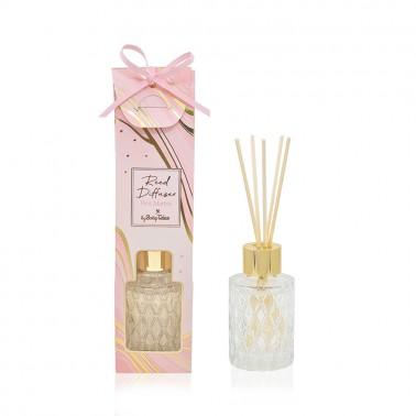 Αρωματικό χώρου marble ροζ 35ml με άρωμα jasmine and hyacinth