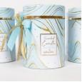 Αρωματικό κερί marble σιέλ