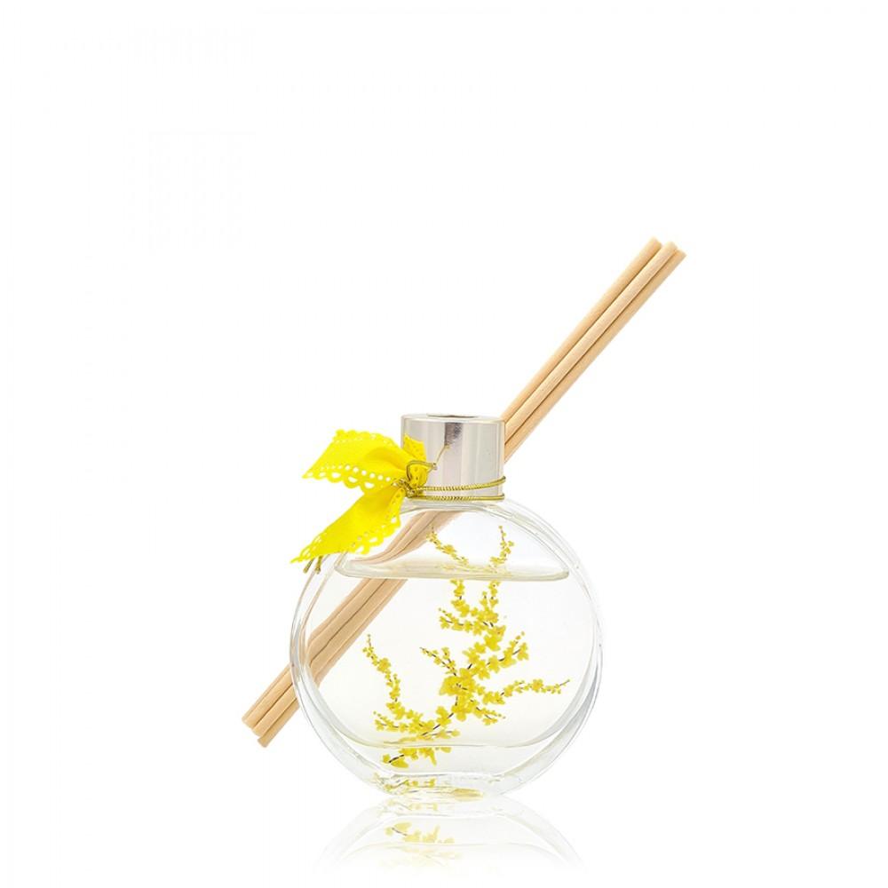 Αρωματικό χώρου με αυτοκόλλητο κίτρινα λουλούδια 60ml