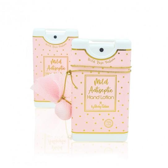 Αντισηπτικό χεριών ροζ χρυσό με μυρωδιά wild rose