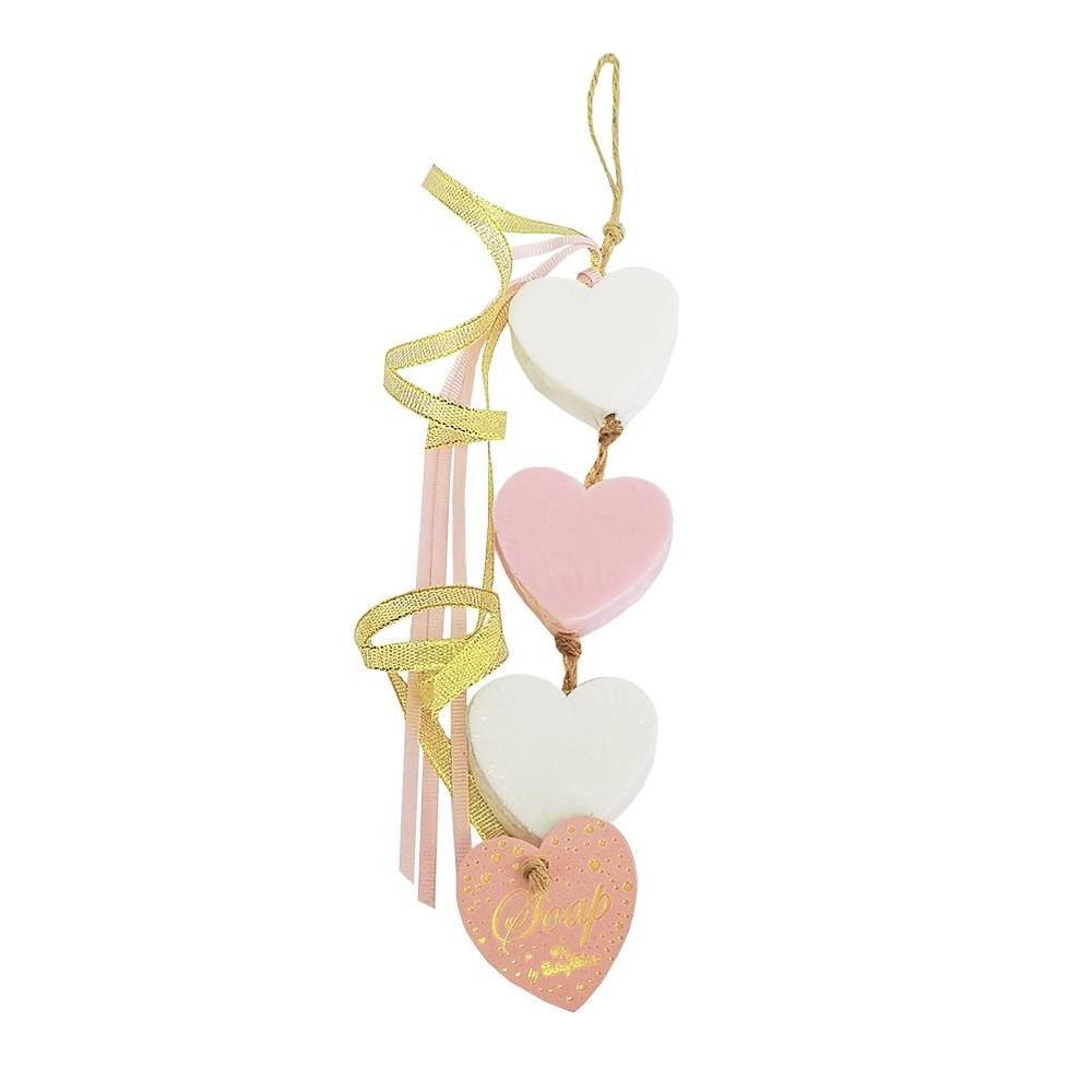 Σαπούνι Τριπλή Καρδιά Κρεμαστή