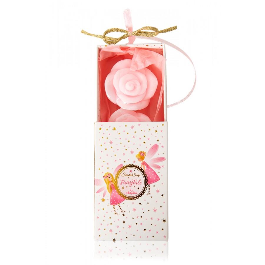 Σαπουνάκια Λουλουδάκια Μέσα Σε Κουτάκι Με Νεράιδες