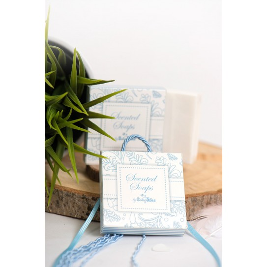 Σαπουνάκι 50γρ Σε Κουτί Elegant Σιέλ