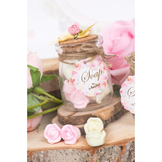 Σαπουνάκια Λουλούδια Μέσα Σε Βαζάκι